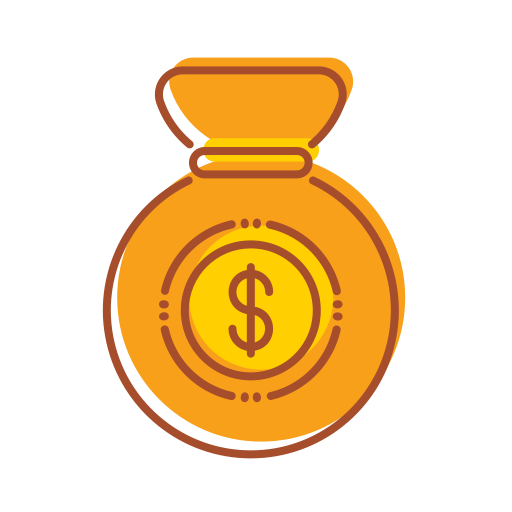 Saving, Money, Bag Icon Free Of Fintech Filled Line Icons