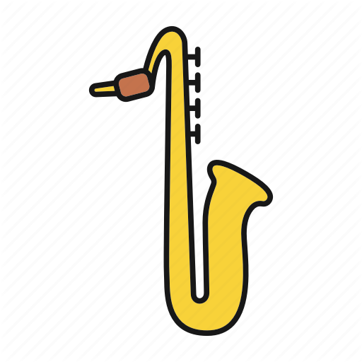 Classical, Instrument, Jazz, Music, Musical, Sax, Saxophone Icon