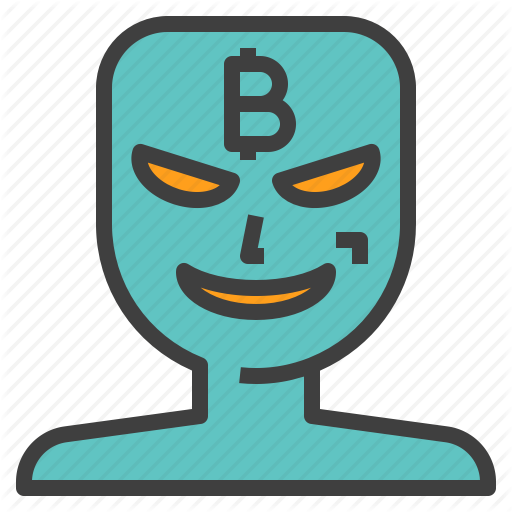 Bitcoin, Crime, Cyber, Fraud, Hacker, Scam, Scammer Icon