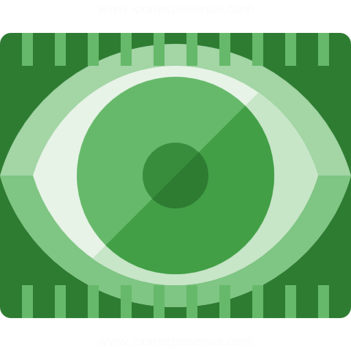 Iconexperience G Collection Eye Scan Icon