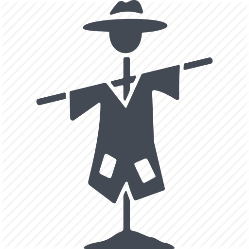 Deterrence, Griculture, Protection, Scarecrow Icon