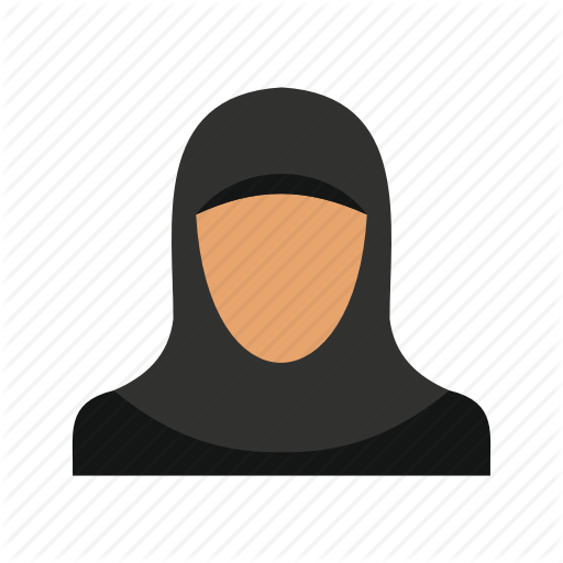 Arab, Arabic, Arabic Woman, Head, Hijab, Logo, Scarf Icon