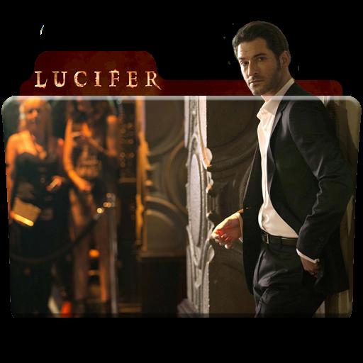 Lucifer Tv Series Folder Icon