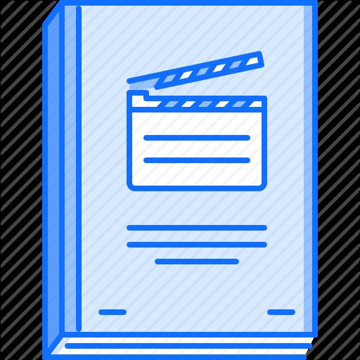 Cinema, Film, Filming, Movie, Scenario Icon