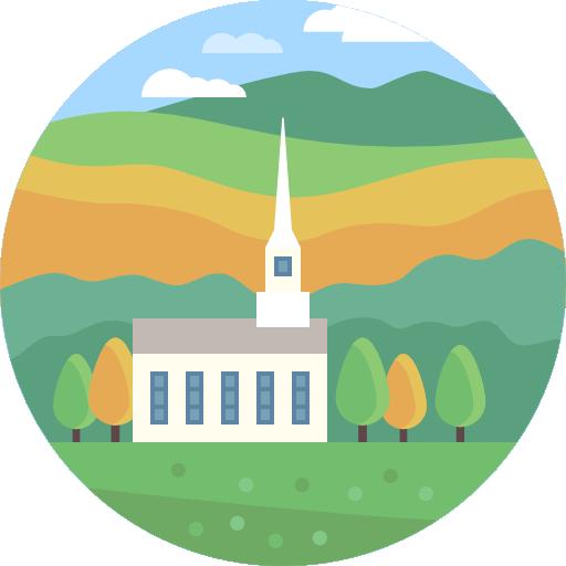 Nature, Landscape, Church, Scenery Icon