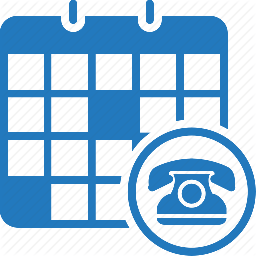 Appointment, Calendar, Call, Phone, Phone Appointment, Schedule Icon