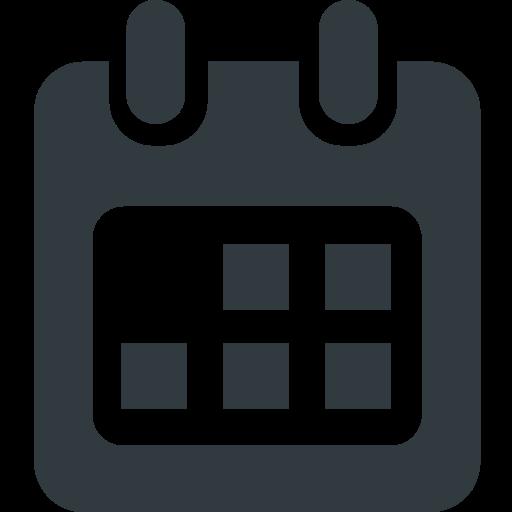 Schedule Glyph Icon
