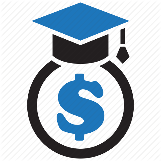 Dollar, Education, Finance, Graduation, Money, Scholarship Icon