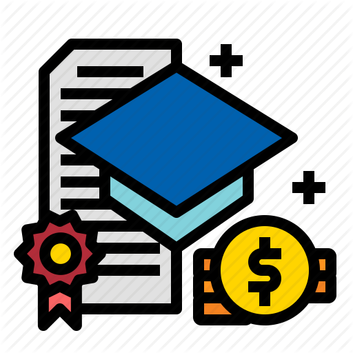 Education, Financial, Graduate, Scholarship Icon