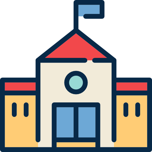 Buildings School Icon