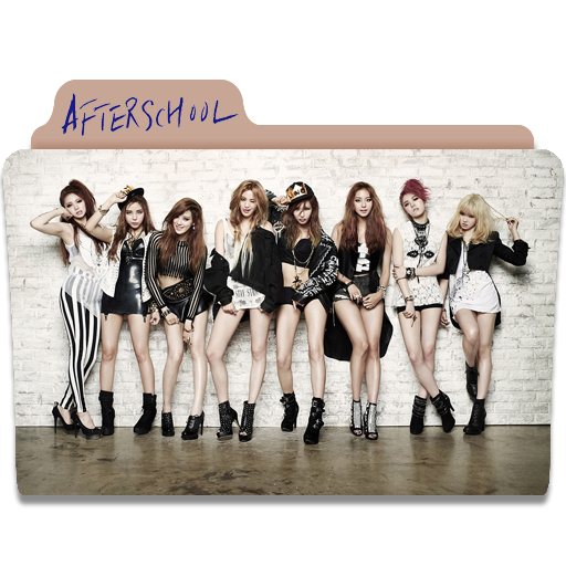 After School First Love Folder Icon