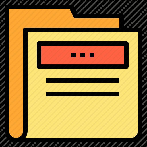 Education, Folder, Learning, School Icon