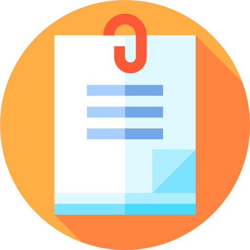 Attach, Education, Attachment, Notes, School Material, Tool Icon