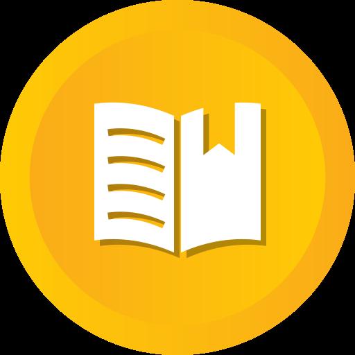 Book, Learning, Bookmark, Ribbon, Education, Mark, School Icon