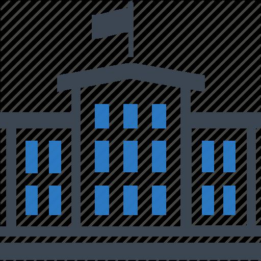 Building College Education Icon