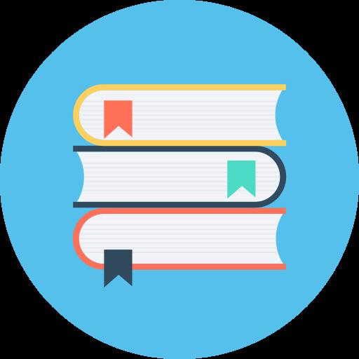 School Textbooks, Textbooks Icon