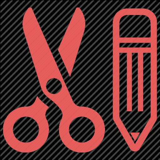 Craft, Cutting, Edit, Education, Pencil, School Supplies, Scissors