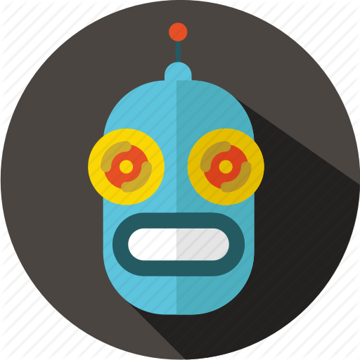 Android, Futuristic, Movie, Multimedia, Retro, Robot, Sci Fi Icon