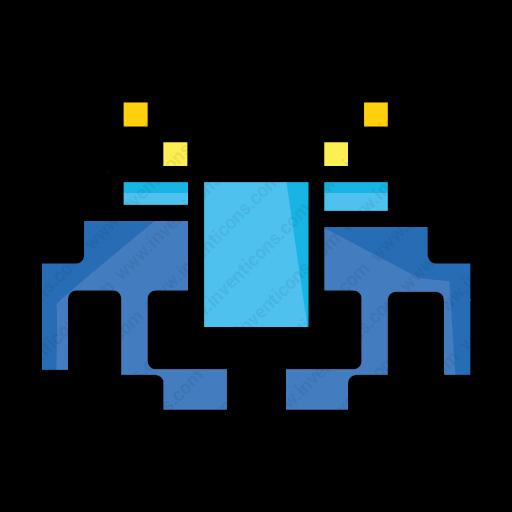Download Fan,art,invader,scifi,space Icon Inventicons