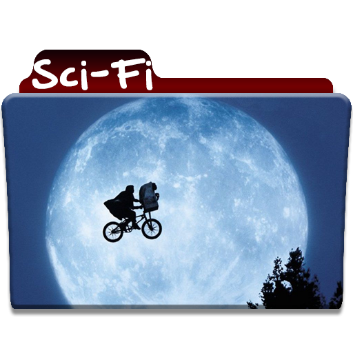 Sci Fi Folder Icon