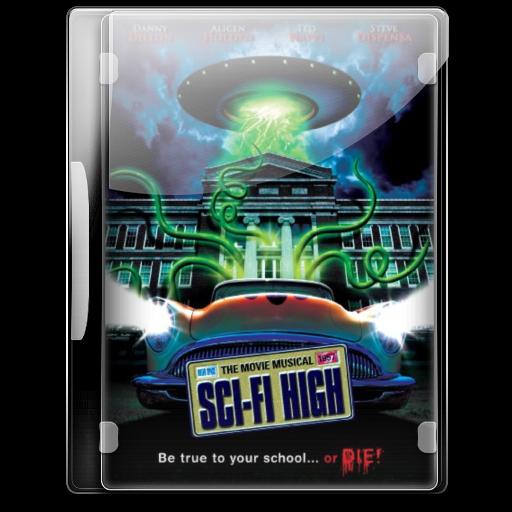 Sci Fi High Icon English Movies Iconset Danzakuduro