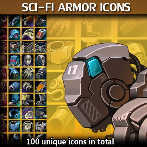 Scifi Armor Icons
