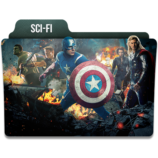 Scifi Icon Movie Genres Folder Iconset Limav