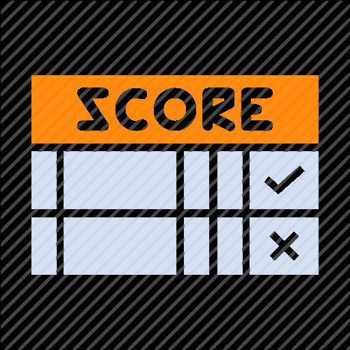 Card, Game, Mark, Score, Scorecard Icon