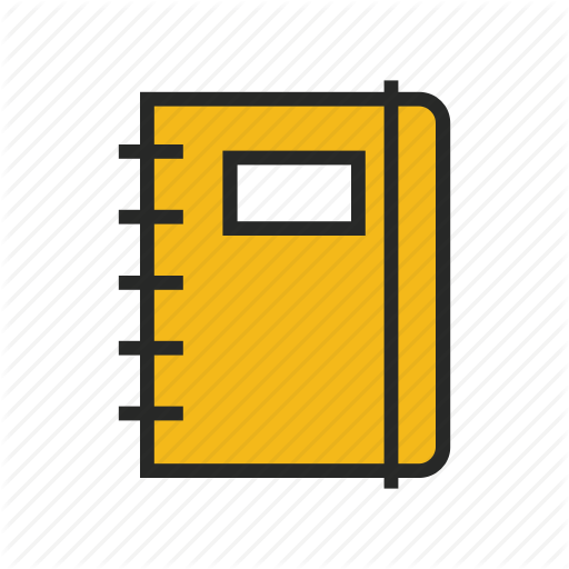 Blank, Book, Note, Notebook, Scrapbook Icon