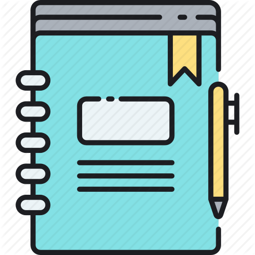 Diary, Journal, Note, Notebook, Scrapbook Icon