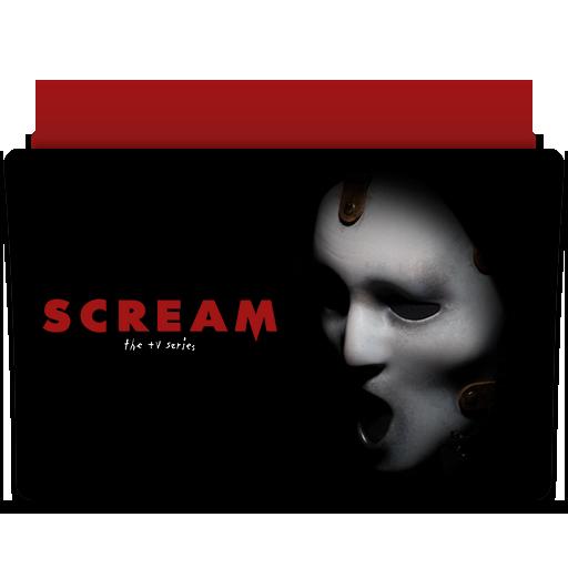 Scream Tv Series Folder Icon