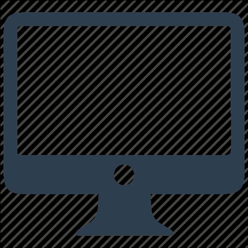 Computer, Desktop, Display, Monitor, Pc, Screen Icon