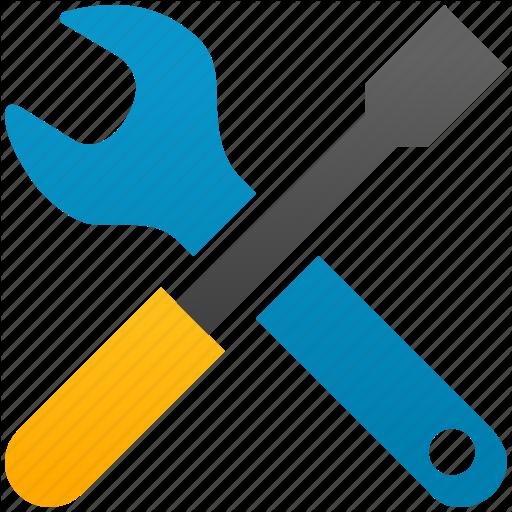 Configuration, Desktop Options, Screwdriver, Settings, Tool, Tools