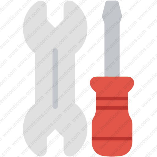 Download Screwdriver,tools,wrench Icon Inventicons