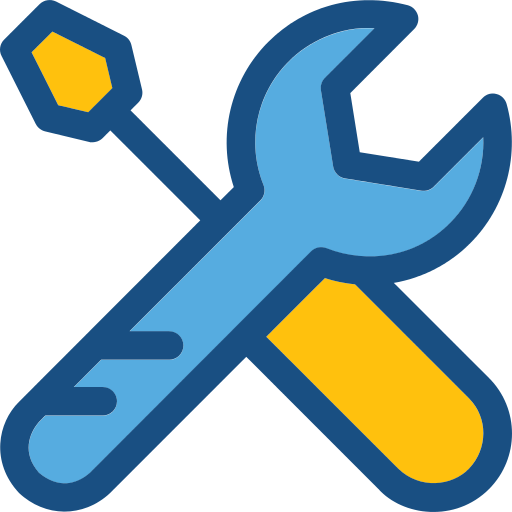 Multicolor Wrench Png Icons And Graphics