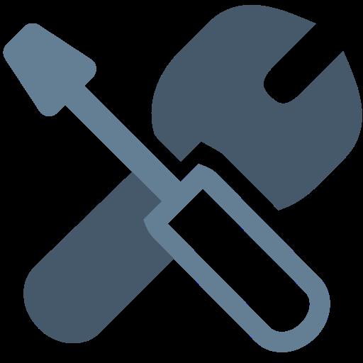 Office, Repair, Repair, Tool, Screwdriver, Tools, Wrench Icon Free