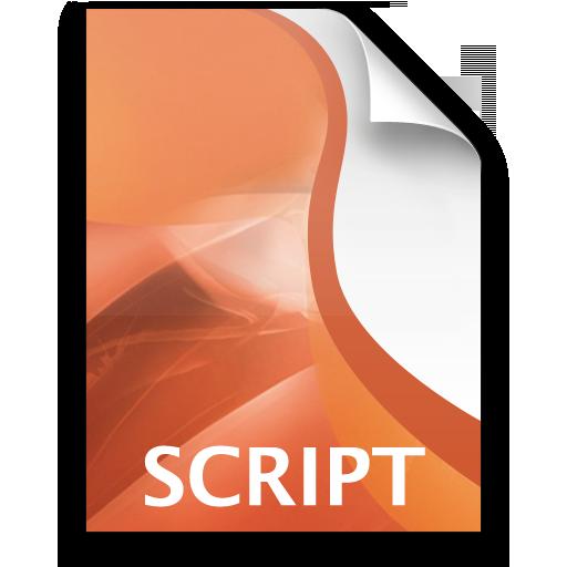 Adobe Director Script Icon