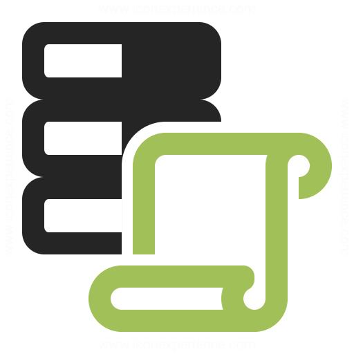 Data Scroll Icon Iconexperience