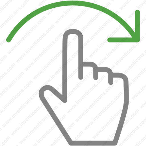 Download Finger,gesture,hand,interactive,right,scroll,swipe Icon