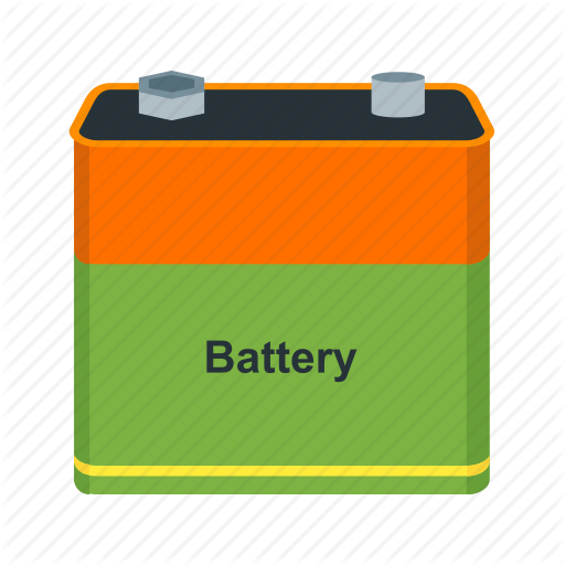 Batteries, Battery, Car, Energy, Power, Sign Icon