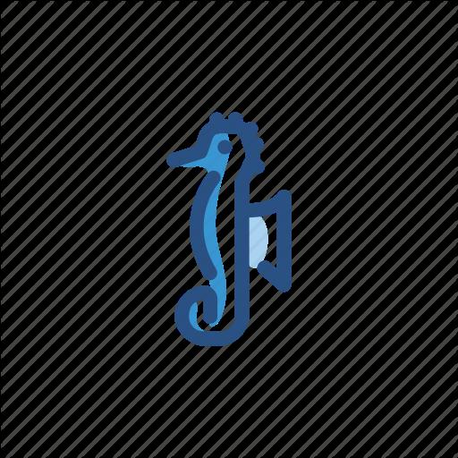 Animal, Seahorse Icon