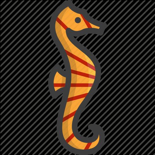Fish, Horse, Sea, Seahorse Icon