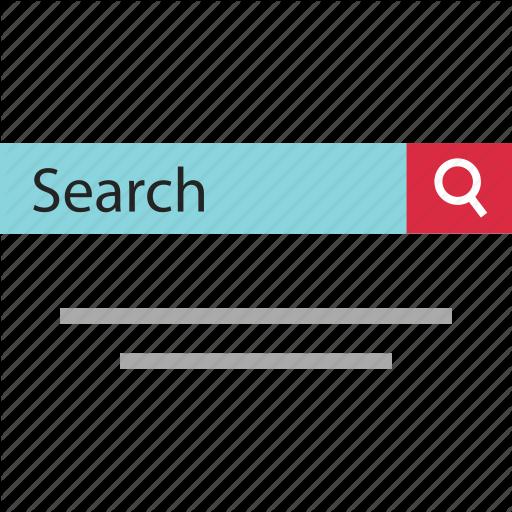 Abstract, Data, Design, Digital, Online, Searchbar, Web Icon
