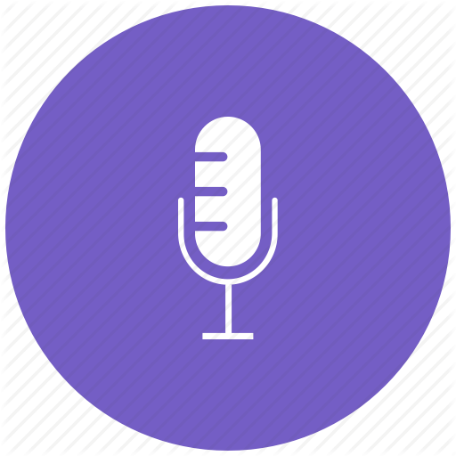 Mic, Microphone, Recorder, Voice Chat, Voice Search Icon