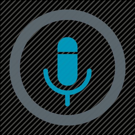 Recorder, Search, Talk, Voice Icon