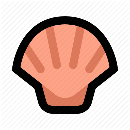 Clam, Cooking, Food, Oyster, Seafood, Seashell, Shell Icon