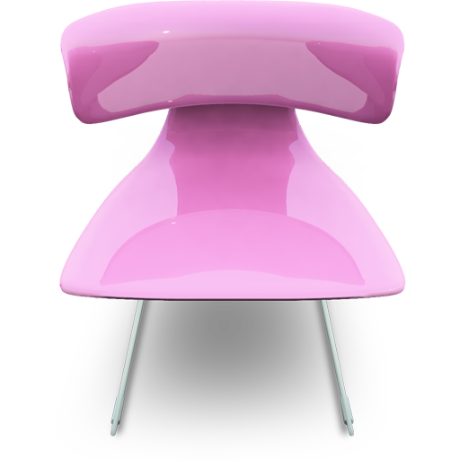 Pink Seat Icon Modern Chairs Iconset Archigraphs