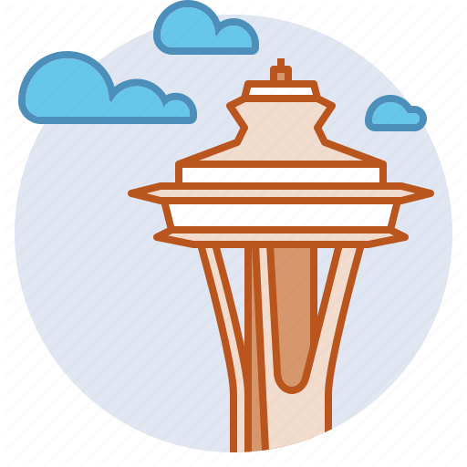 Landmark, Observation Tower, Pacific Northwest, Seattle, Space