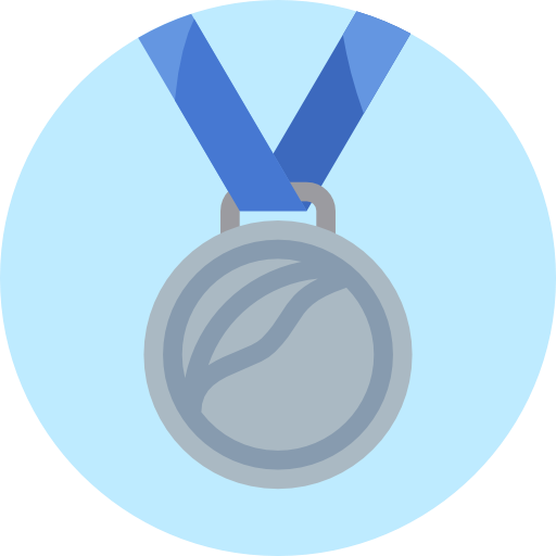 Prize, Silver Medal, Sports, Second, Sports And Competition, Medal