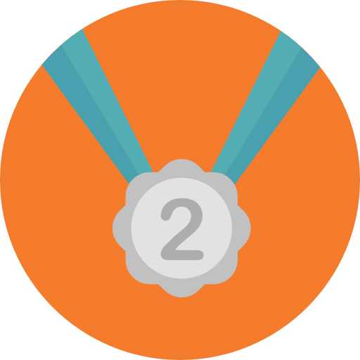 Medal, Prize, Sports, Second, Sports And Competition, Silver Medal
